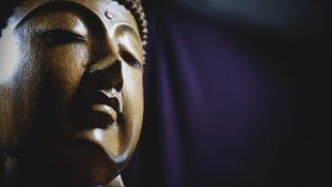 Buddha - Statue de bois - Bali, Indonésie